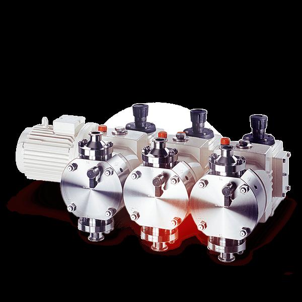 LEWA ecoflow® sanitary/hygienic diaphragm metering pump